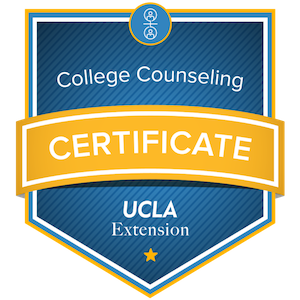 College Counseling Certificate